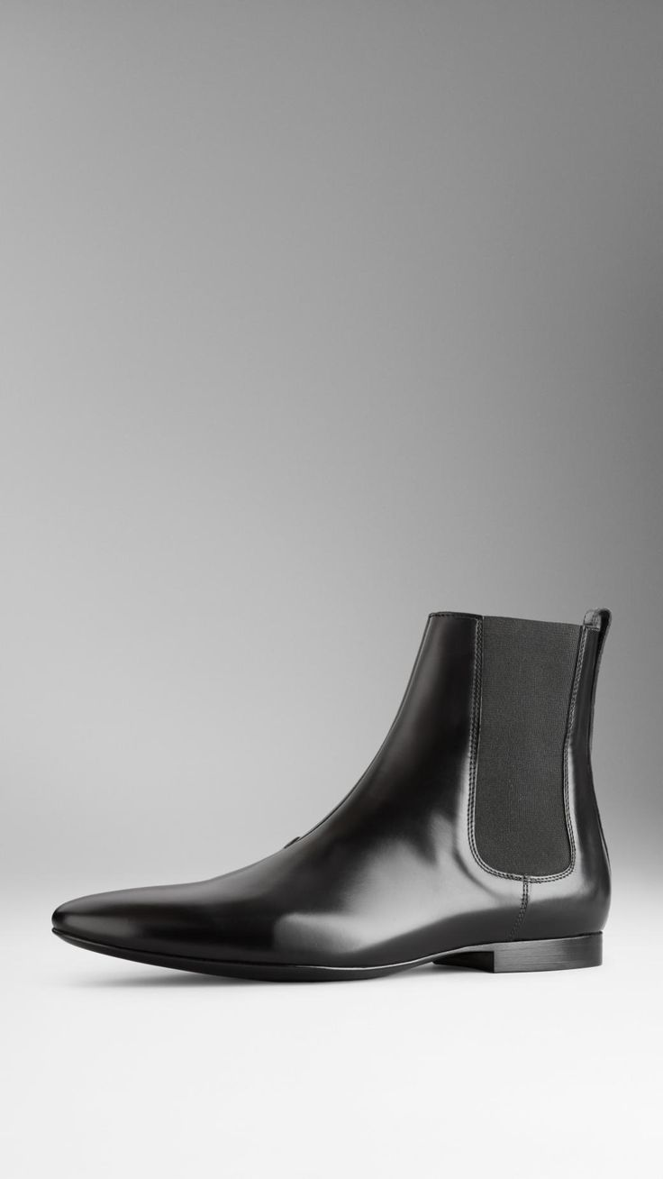 Leather Chelsea Boots | Burberry