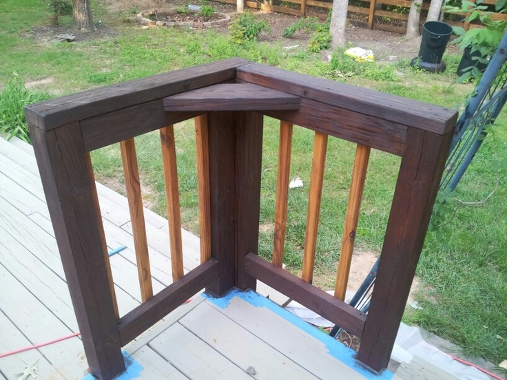 sikkens srd translucent natural and trw 1500 dark oak stain color schema for the deck after. Black Bedroom Furniture Sets. Home Design Ideas