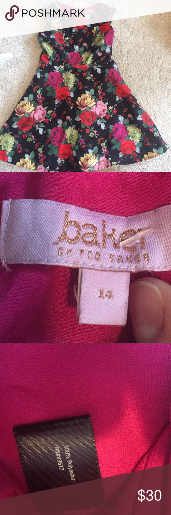 Baker by Ted baker dress Cute little spring/ summer children's dress by baker by Ted baker.  She will look like such a put together young lady in this dress! Baker by Ted Baker Dresses