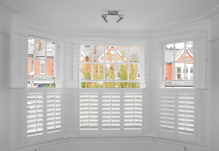Bay Window With Tier On Tier Shutters Which Can Be Opened