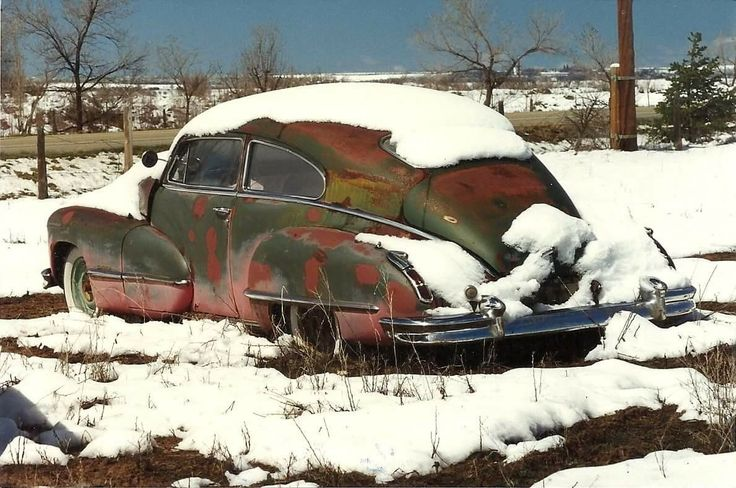 snow covered 1940's classic