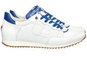Beige/Witte D'Acquasparta schoenen Magnifico sneakers