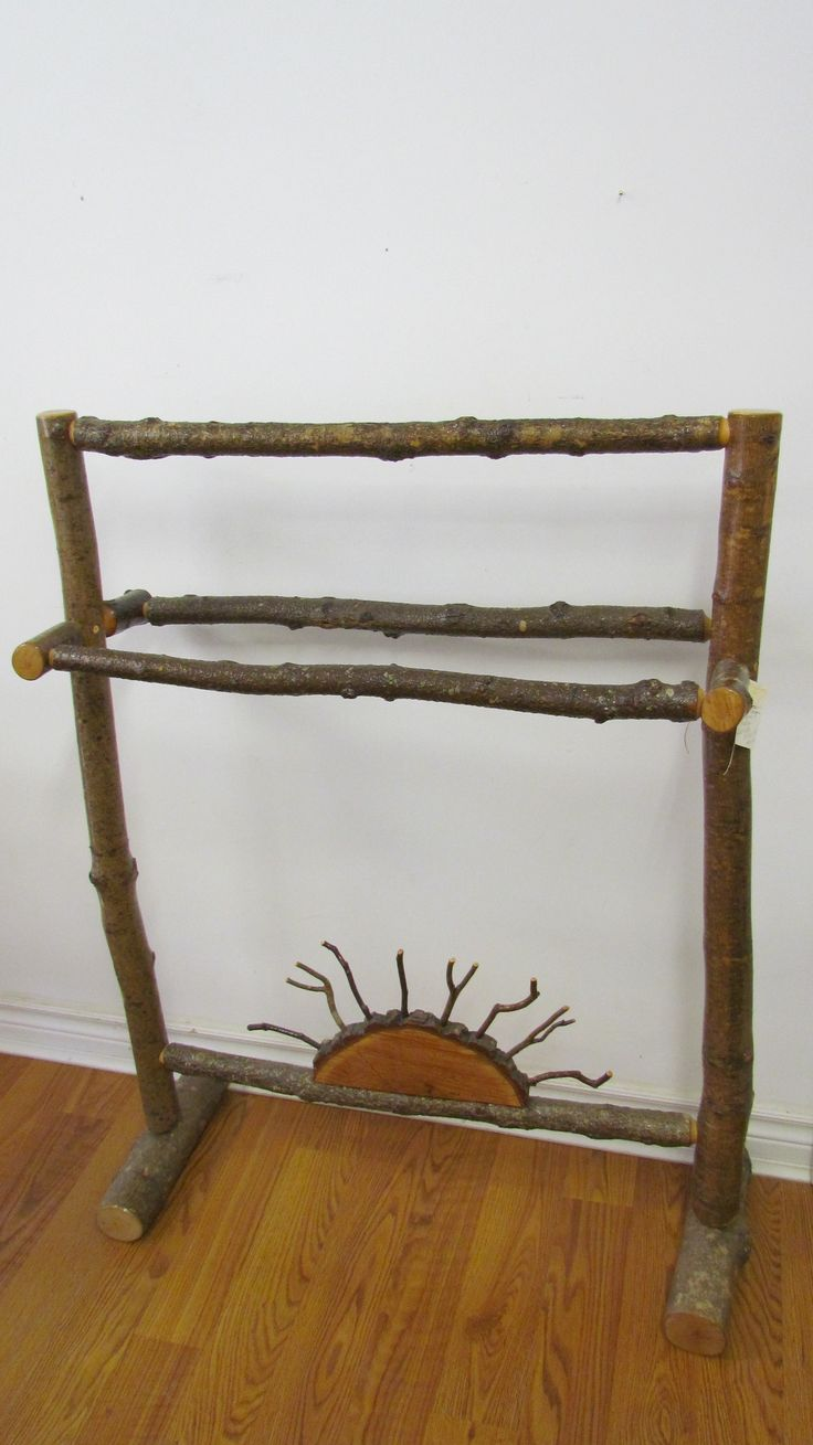 Local & Handcrafted Quilt Rack    Available at Mariposa Design ~ 73 Foster St., Perth, Ontario K7H 1R9