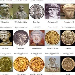 Galería de los Emperadores del Imperio Romano