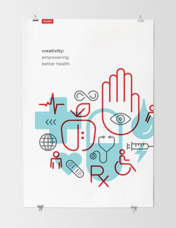 oco poster ICON IDEAS - found on designspiration.net, pinned by Ronnie Li 2014-Jan