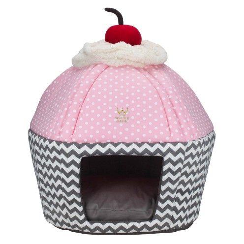 Fornada especial da Woof Pet no Vilarejo Pet! Cama para cães pequenos e gatos em forma de cupcake!!! DELICIA!!!!