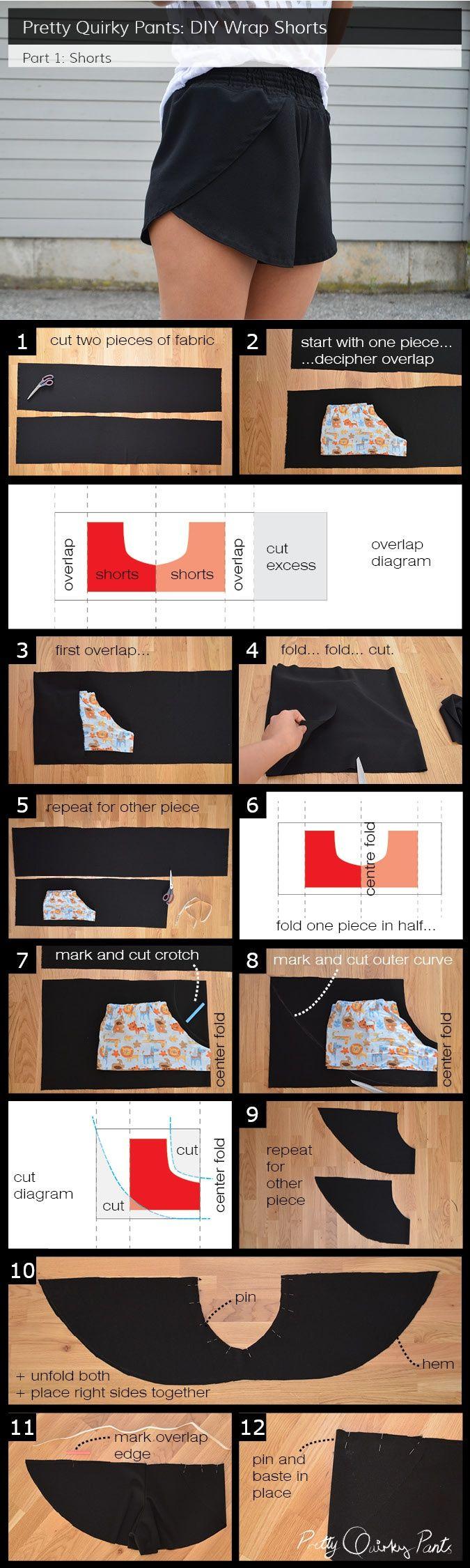 Как сшить шорты с лепестками (DiY) / Простые выкройки / ВТОРАЯ УЛИЦА