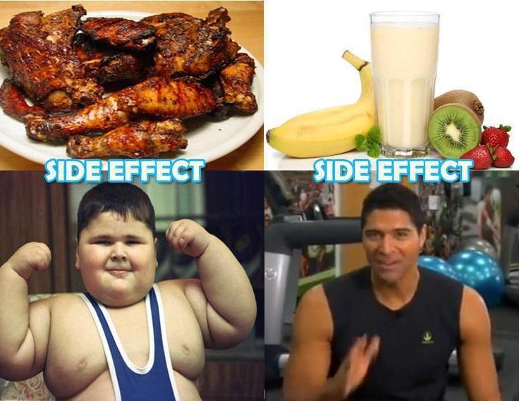 Yummy Herbalife shakes!   Bad junk food for kids  #thinspiration