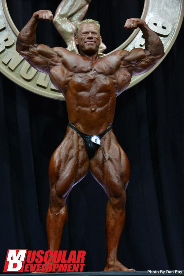 Arnold Classic Open Results: Dennis Wolf Wins