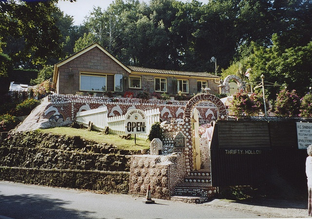The Shell Garden, St. Brelade, Jersey, Channel Islands.    Started in 1957 by Colin Soudain and still going.