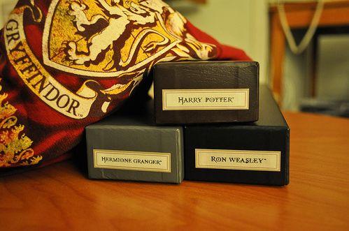 Gryffindor trio: Potter Nerd, Harry Freakin, Things Potter, Things Harry, Freakin Potter, Harry Potter 3