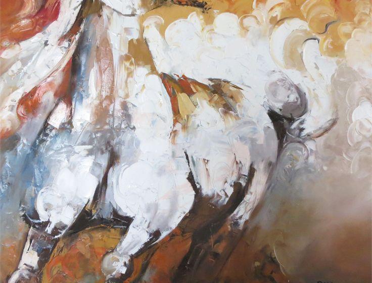 http://www.sajidahussain.com/ Pakistani Art Paintings – Horse Paintings, Abstract, Modern