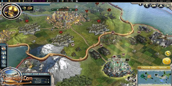 Civilization 5 Torrent Download is definitely my favorite games 4X out there and I still play with Civilization IV BTS (Yes! Play both possible).