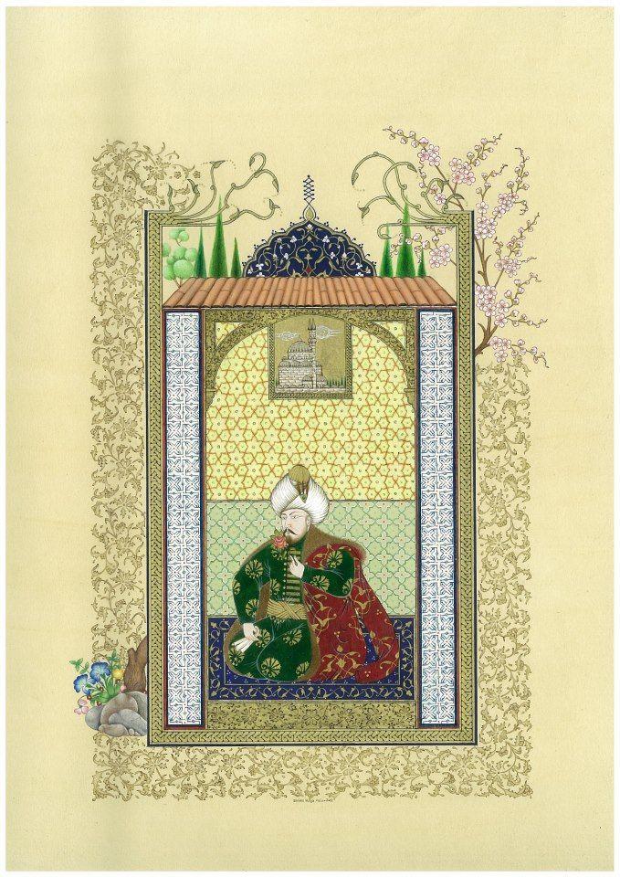 Hülya Aziz Fatih Sultan Mehmet (ilk minyatür çalışması)