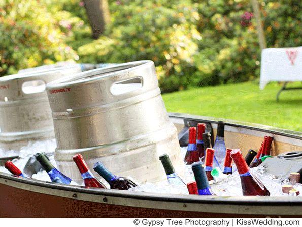 Freen Cheap Backyard Wedding Ideas for a Your Ceremony and Reception KISSwedding.com