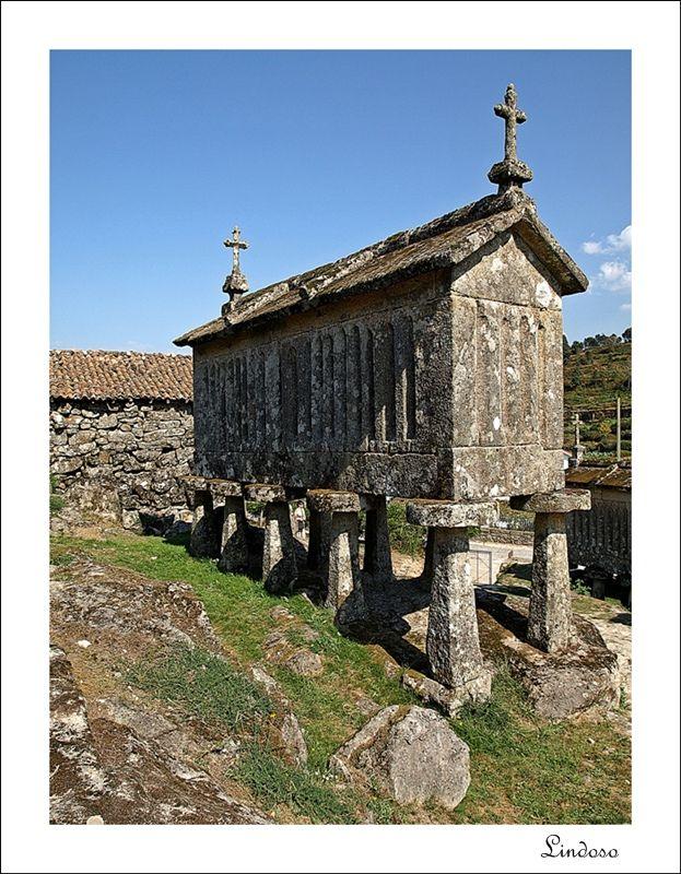 """The """"Espigueiros"""" of Lindoso   Portugal"""