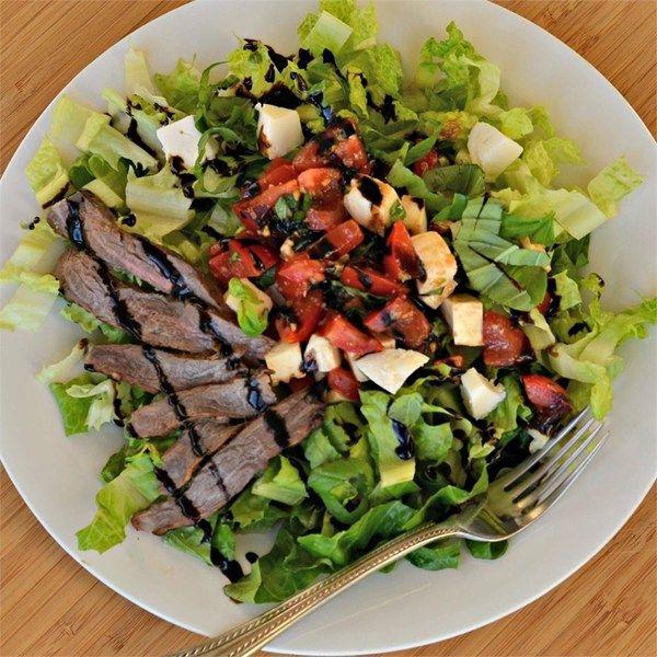 Caprese Salad with Grilled Flank Steak Photos - Allrecipes.com