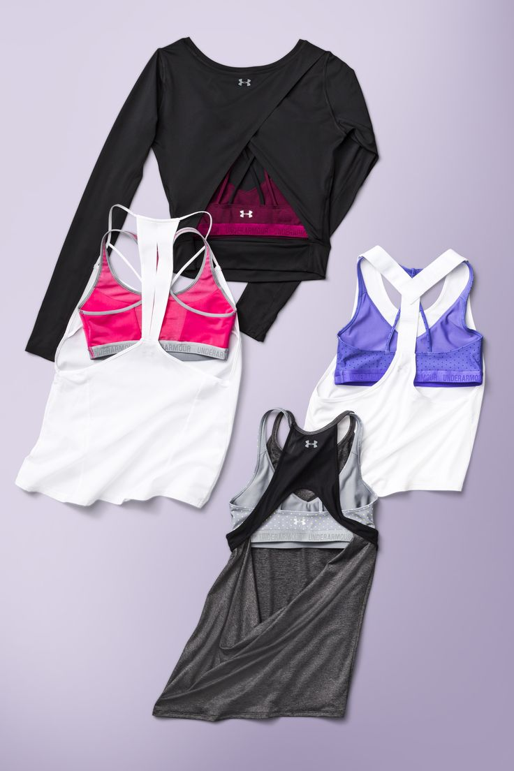 Breakthrough backs. Shop tanks and tops with all the details you love.