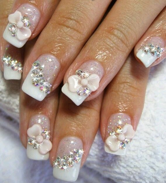17 Best Ideas About Bling Acrylic Nails On Pinterest