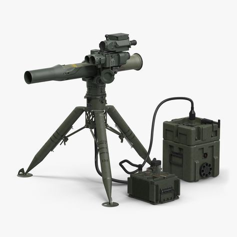 BGM-71 TOW Missile System Tripod 3d model