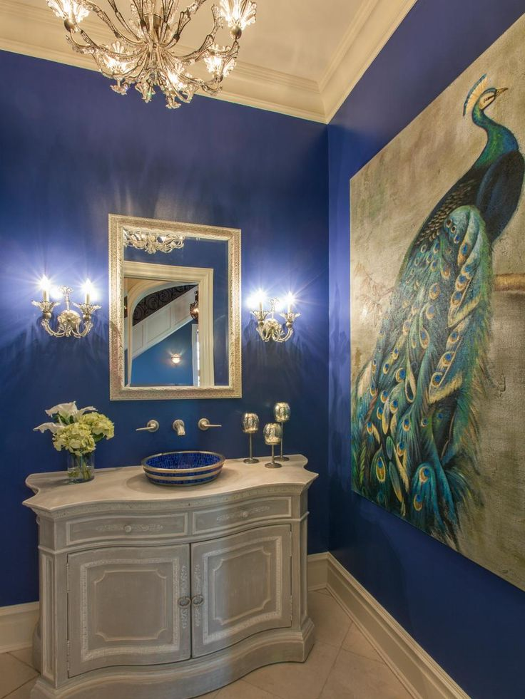 20 Ways To Add Personality To Your Bath Blue Walls