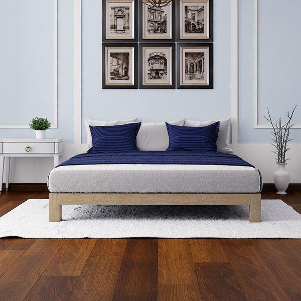 Motif Design Aura Deluxe Platform Bed Gold