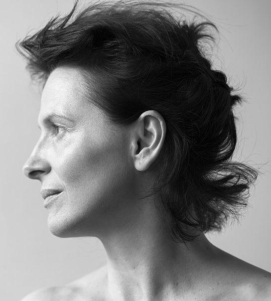 Juliette Binoche, photographed by Brigitte Lacombe, October 2015