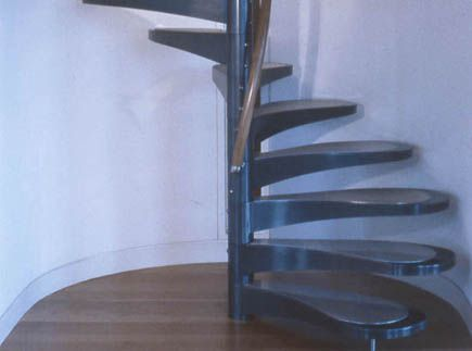 Best Private Residence Stainless Steel Spiral Staircase 400 x 300