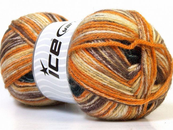 Alpaca Color Orange or brun noir