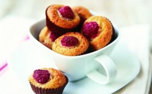 Muffins frambozen