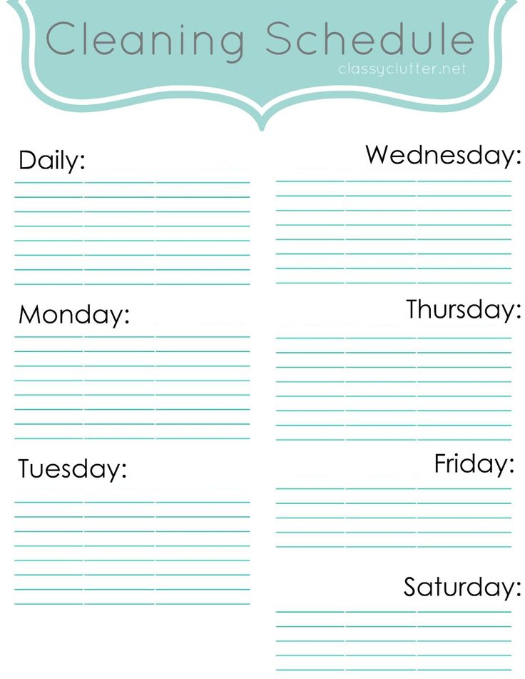 Welcome to Spring Cleaning Week at Classy Clutter! This week we are focusing on how to get organized and clean our homes! We will be sharing a few tips, tricks and ideas to help you get your home in order. What better way to start then coming up with a cleaning schedule. Every Monday, I …