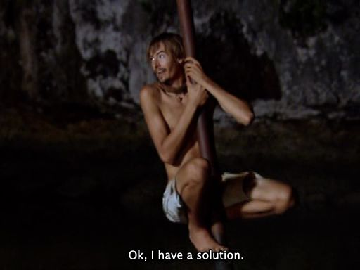 """Ian Rosenberger nell'episodio 10x14 (The Ultimate Shock) di """"Survivor: Palau"""". CHE CUORE"""