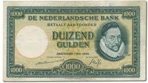 1000 gulden - 1945
