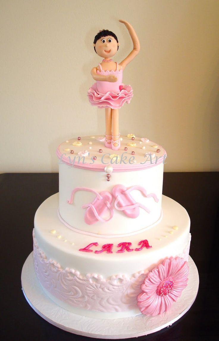 Cute Ballerina Cake Ballerina Themed Party Ballet
