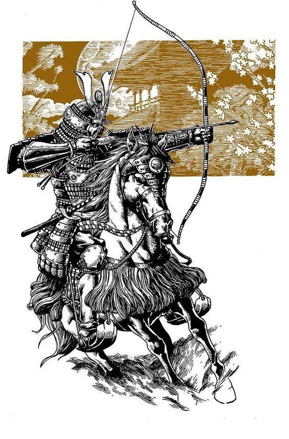 берегах озера конный самурай картинки дебют машин