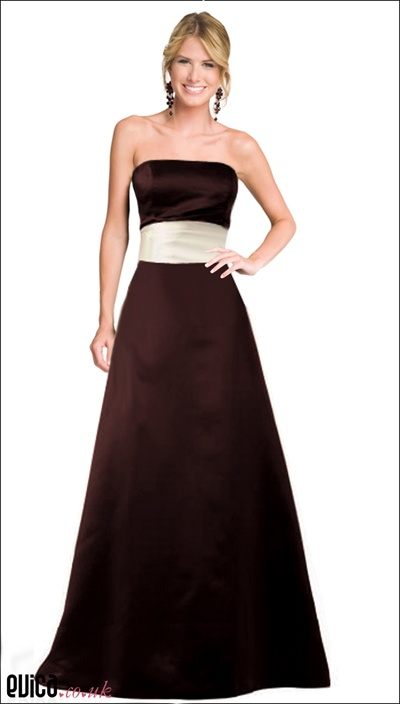 25 best ideas about chocolate bridesmaid dresses on for Brown dresses for a wedding
