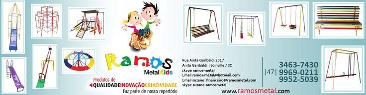 Toda Linha de Playground você encontra aqui! (47) 3463-7430 Rua Maria Goll, 155 - Bairro Nova Brasília, cidade Joinville/SC