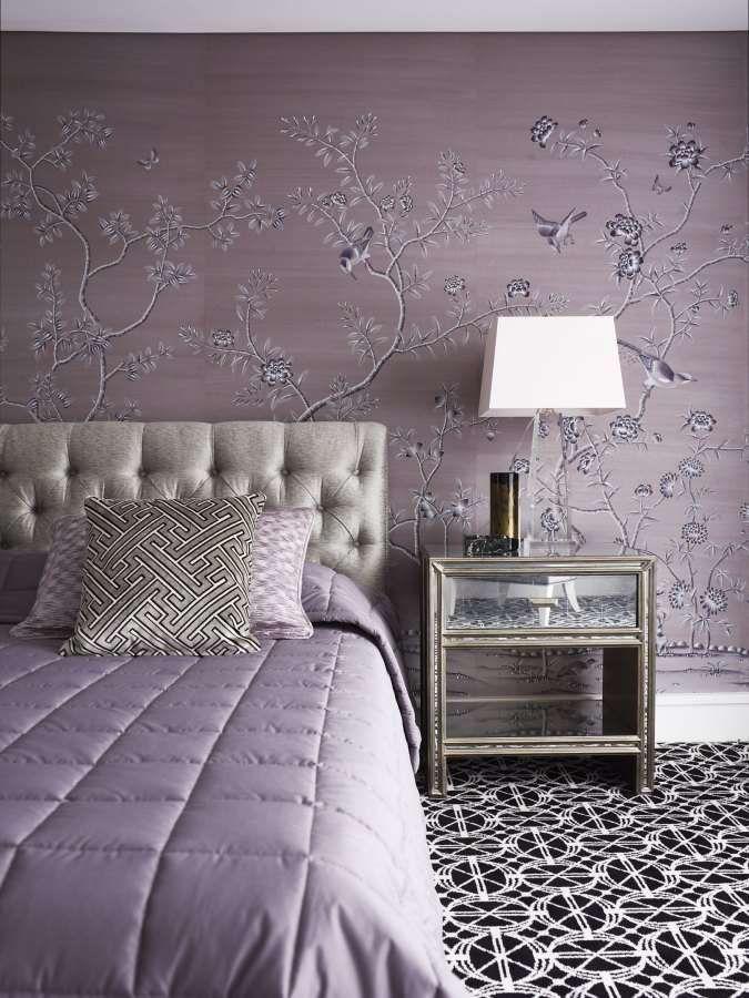 Idee per arredare la camera da letto con il color lavanda - Particolare camera da letto