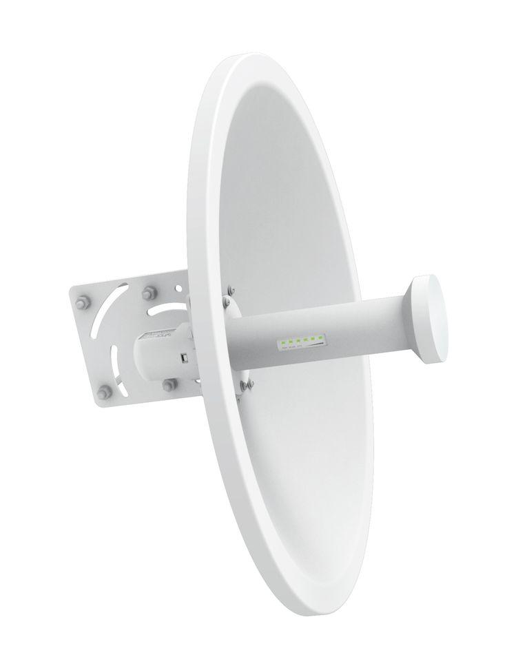 WIS-D5250-BL - Long Range Outdoor Wireless Bridge Link - With Dish Antenna Dual Polarised 5GHz 25dBi (2 Radio Bundle) - Ovios