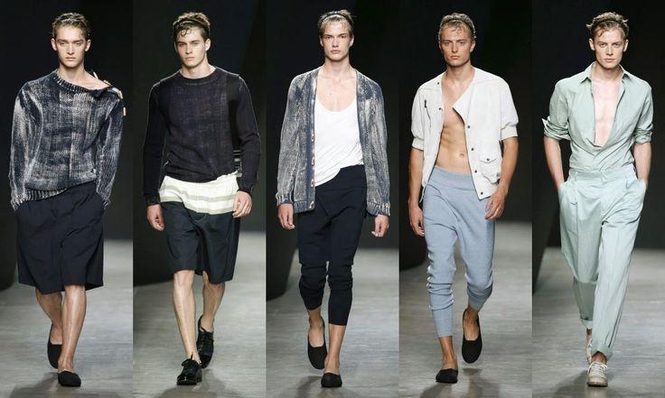 Bottega Veneta  #Fashion #moda #men #hombre  http://cuchurutu.blogspot.com.es/2014/06/la-semana-de-la-moda-masculina-en-milan.html