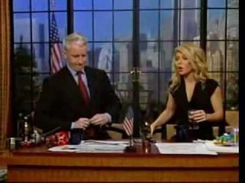 Anderson Cooper tries Coke Blak