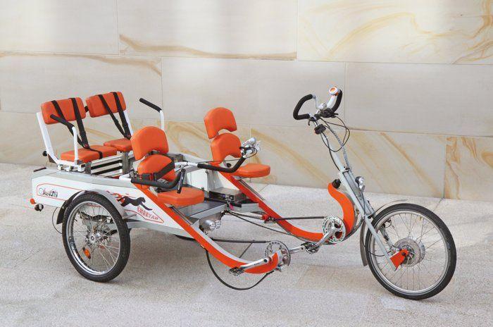 Parallel Tandem City Vehicles Bicycle Tandem Bicycle