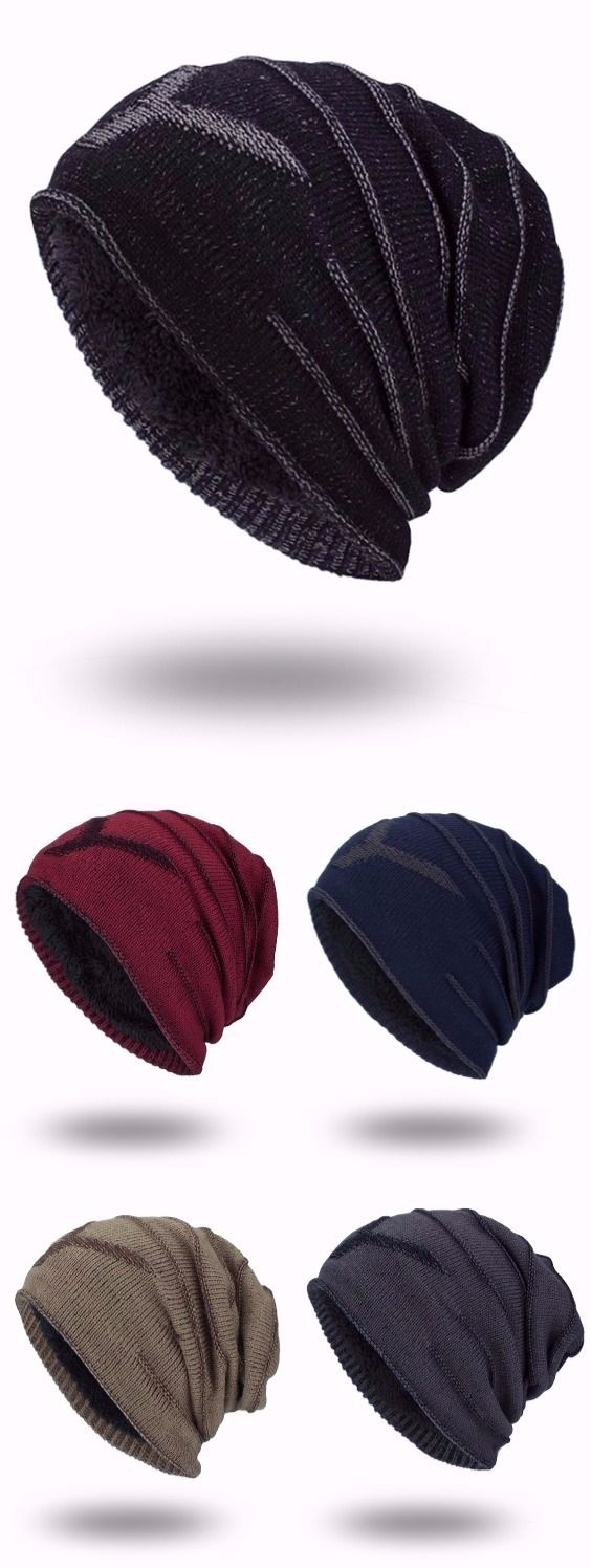 Double-Deck Thicken NY Knit Hat