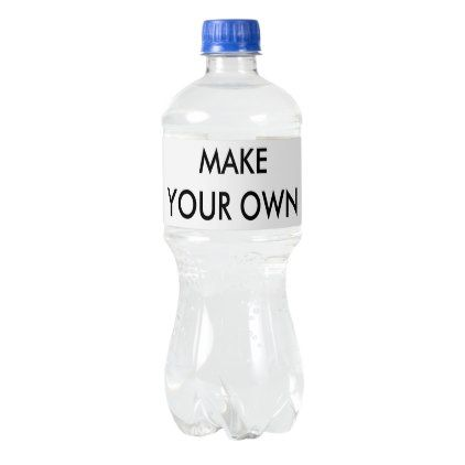 Custom Personalized Water Bottle Labels (5) - kitchen gifts diy ideas decor special unique individual customized