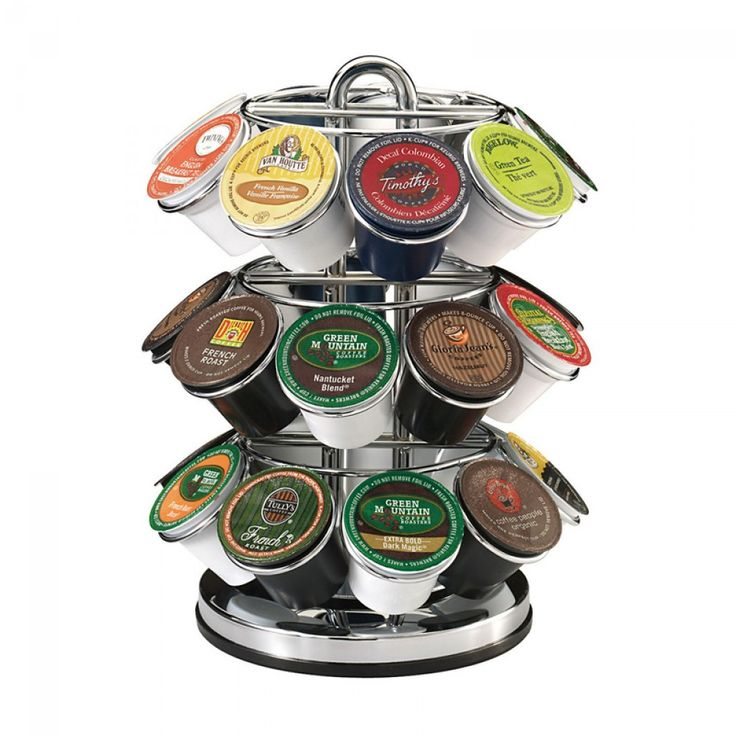 Keurig 27 Count K Cup Pod Carousel Holds Up To