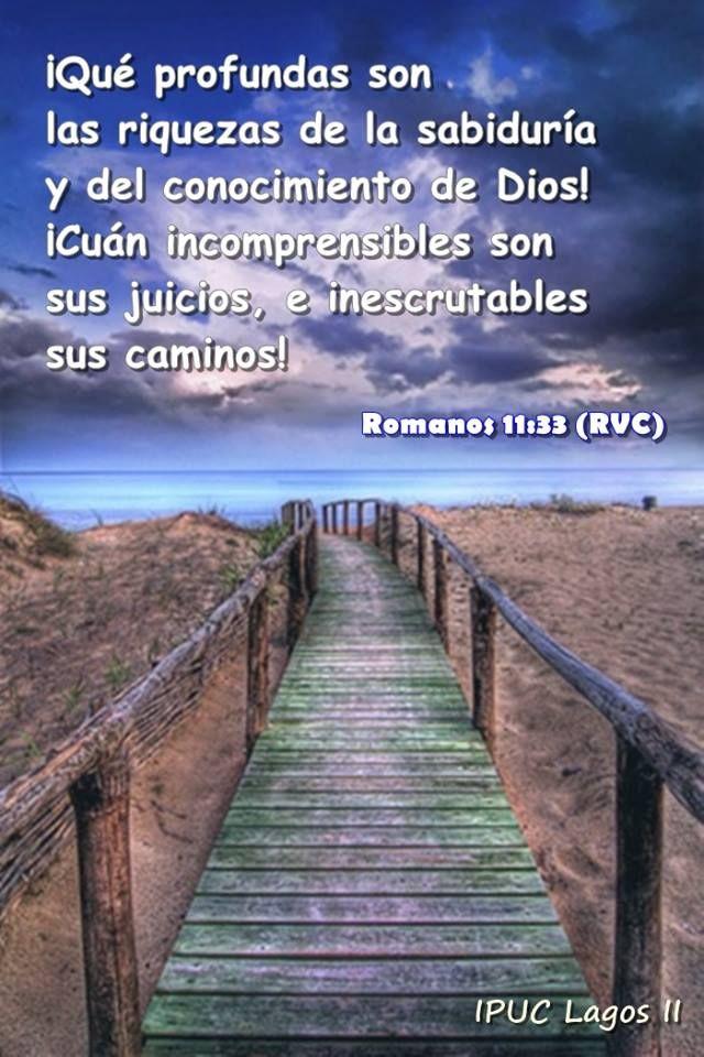 Romanos 11:33