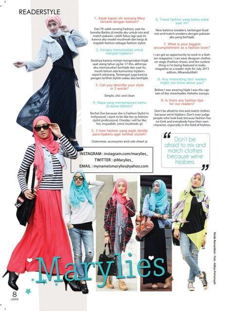 Me on Reader style looks magazine july 2013