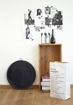 17 best images about le sac en papier merci on pinterest. Black Bedroom Furniture Sets. Home Design Ideas