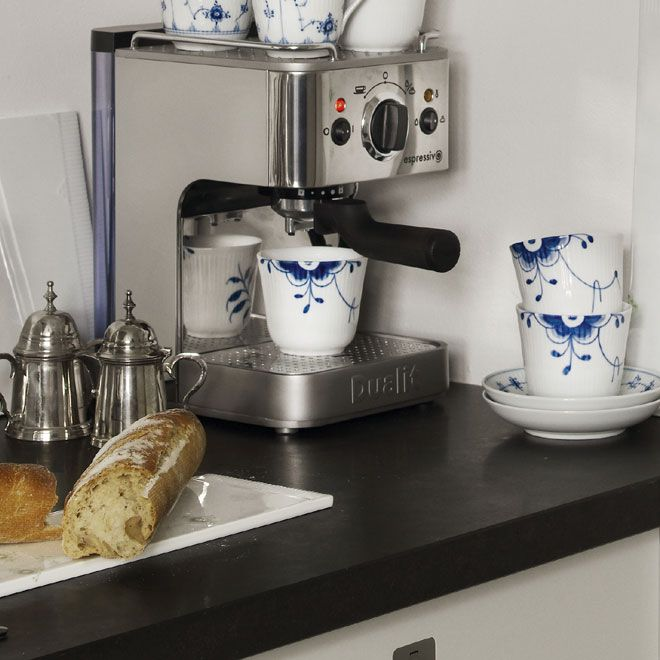 Blue Fluted Mega kitchen mix in the 2012 Royal Copenhagen Catalogue