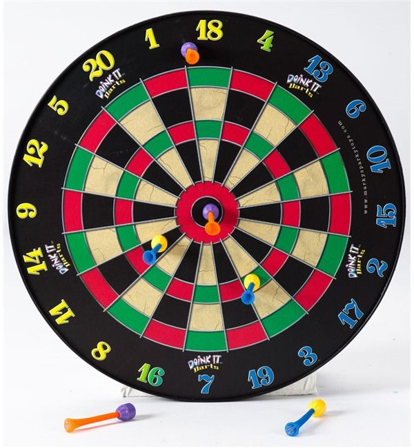 Magnetic Dart Board Set | Kid's Dart Set | Hearthsong